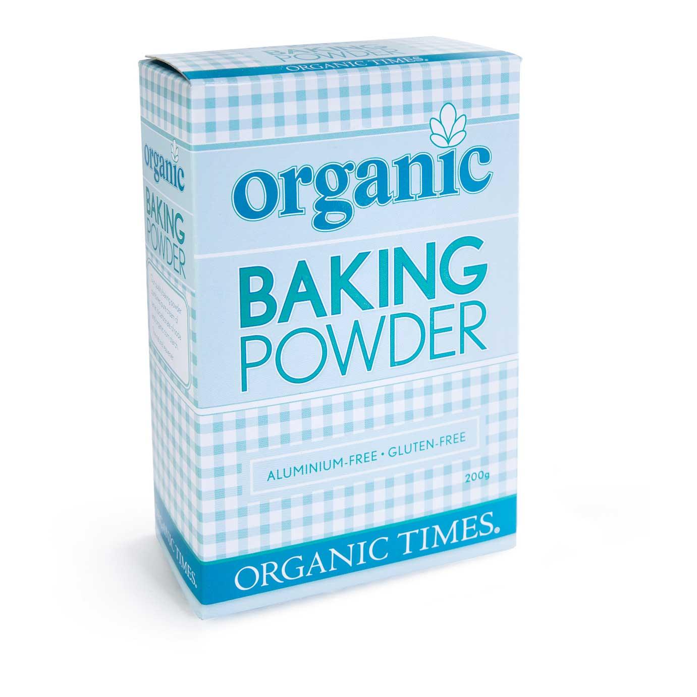 organic times baking powder