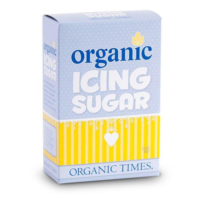 organic times hand icing sugar