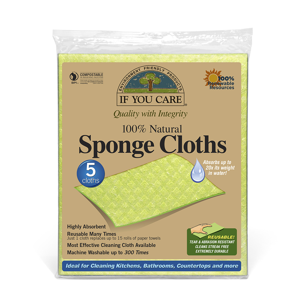 if you care Sponge-Cloths