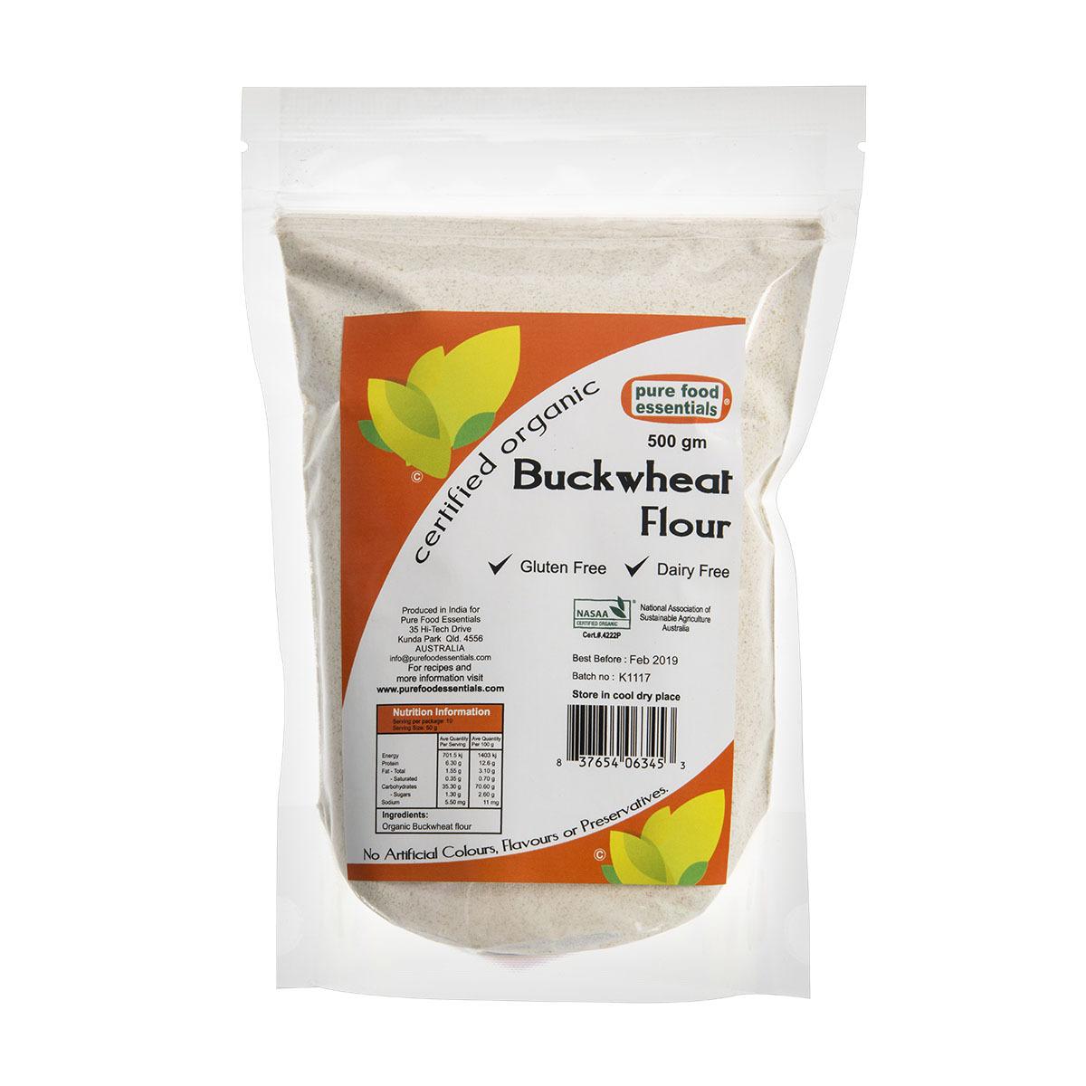 pure food essentials buckwheat flour
