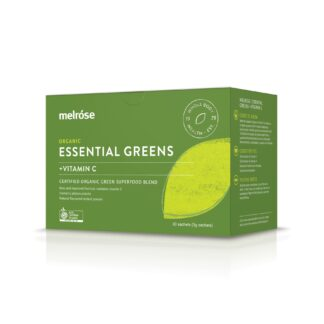 melrose essential greens vit c