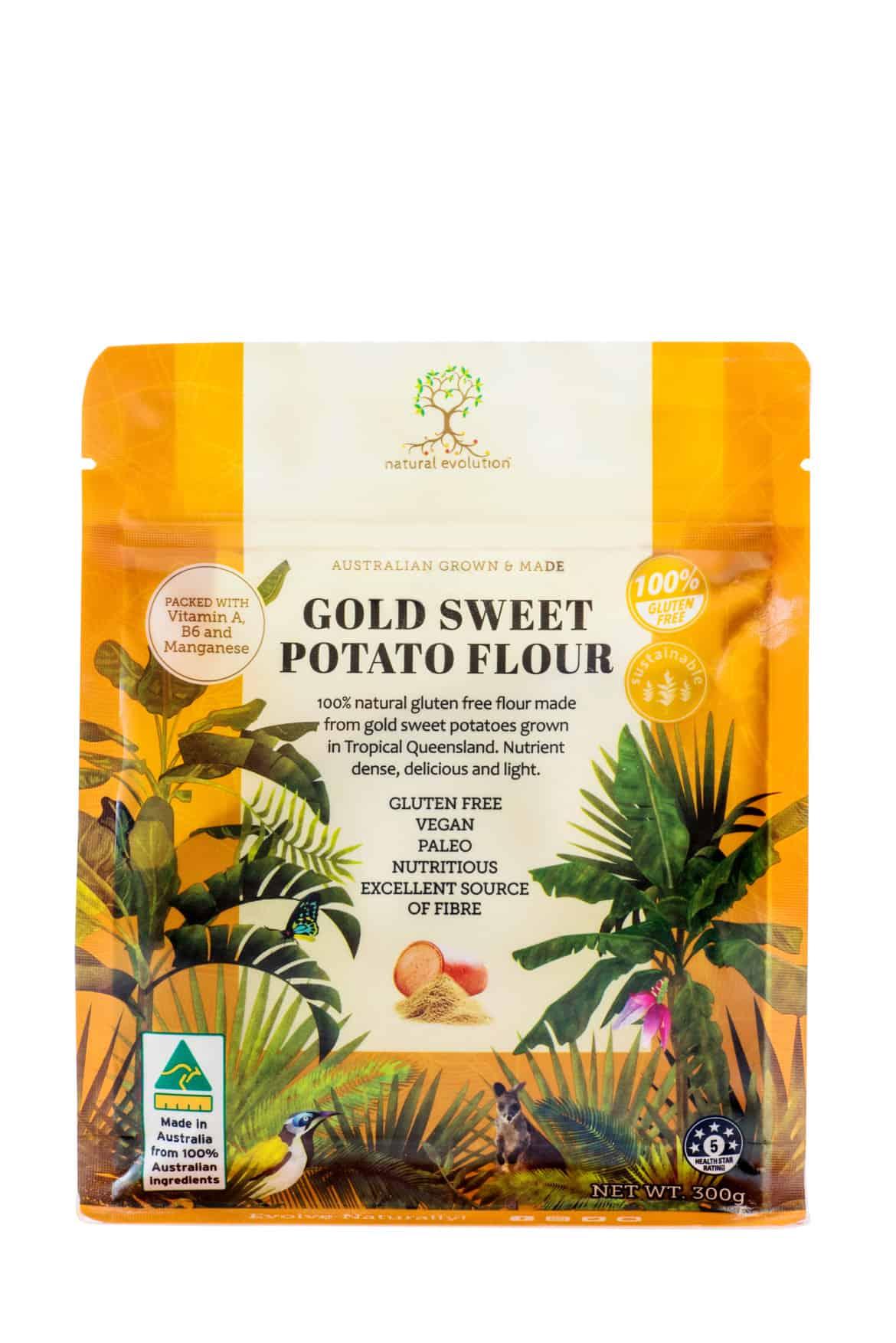 natural evolution sweet potato flour