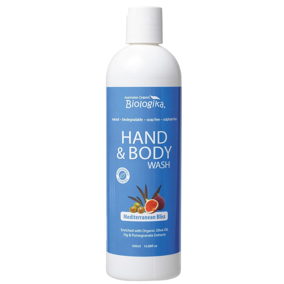 biologika mediterranean hand wash